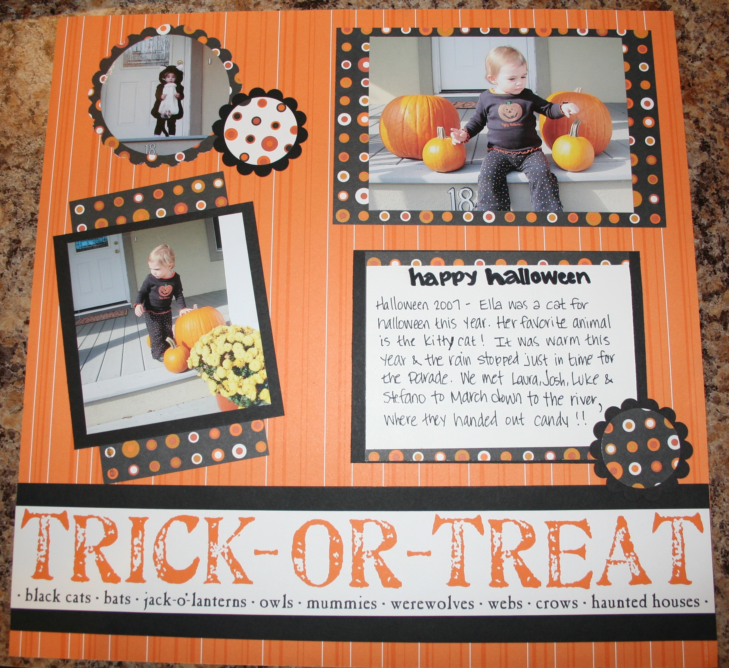 Baby scrapbook page creative cucina part 2 - Scrapbooking idees pages ...