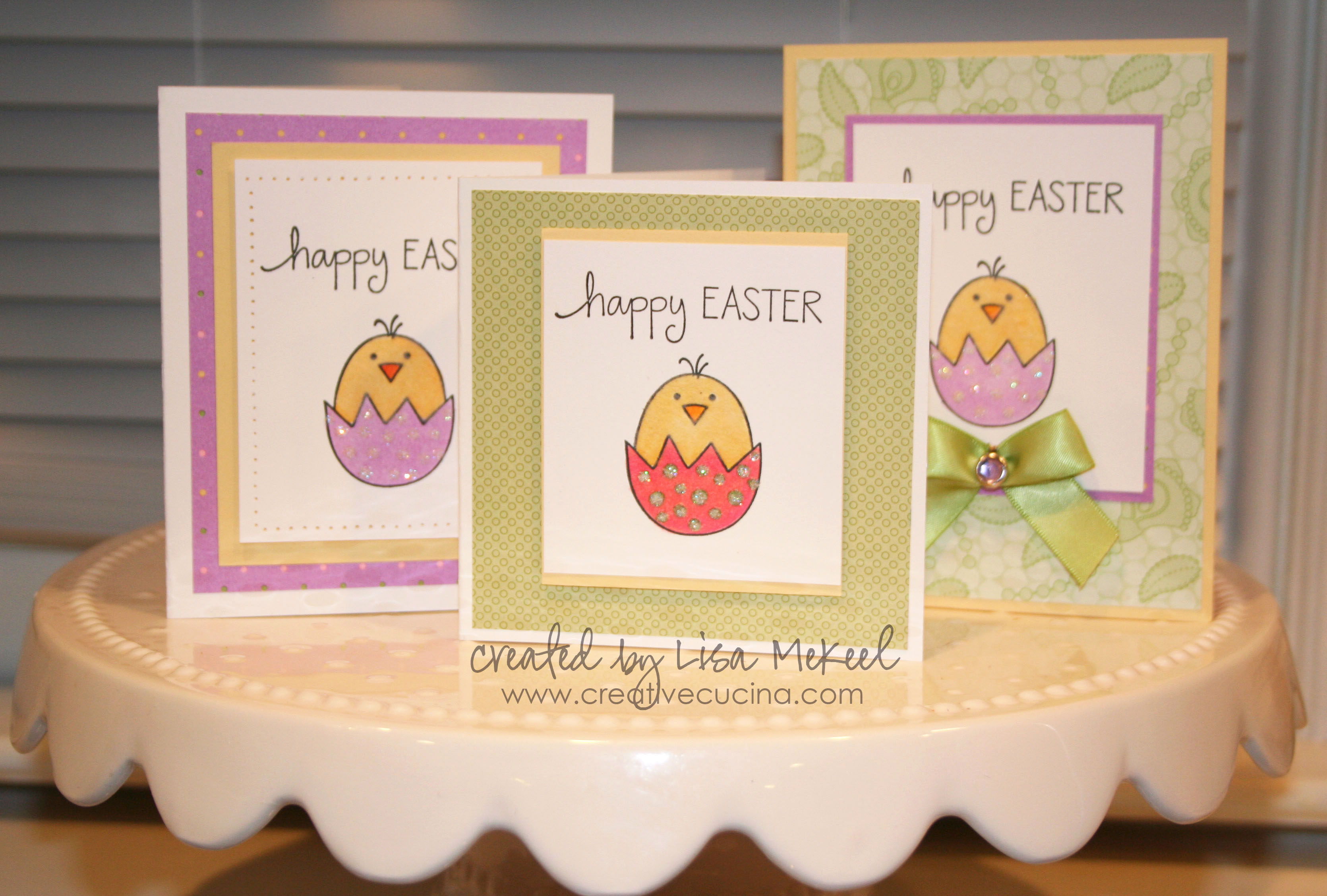 Easter Cards Chick in Egg – Easter Stamps Card Making