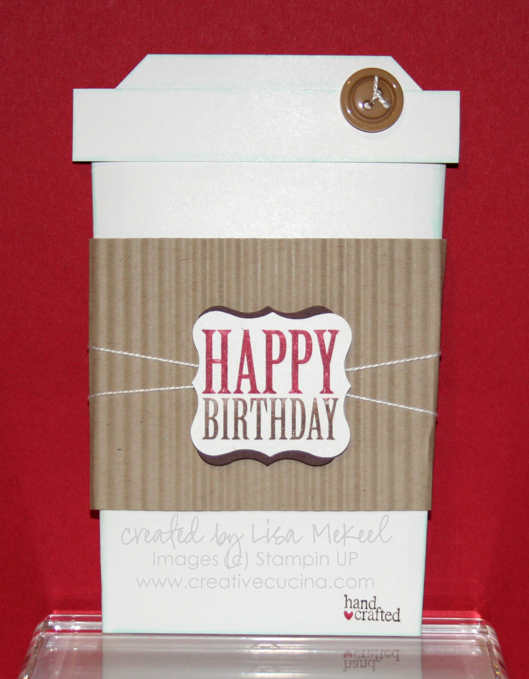slider birthday card coffee cup tutorial  creative cucina, Birthday card