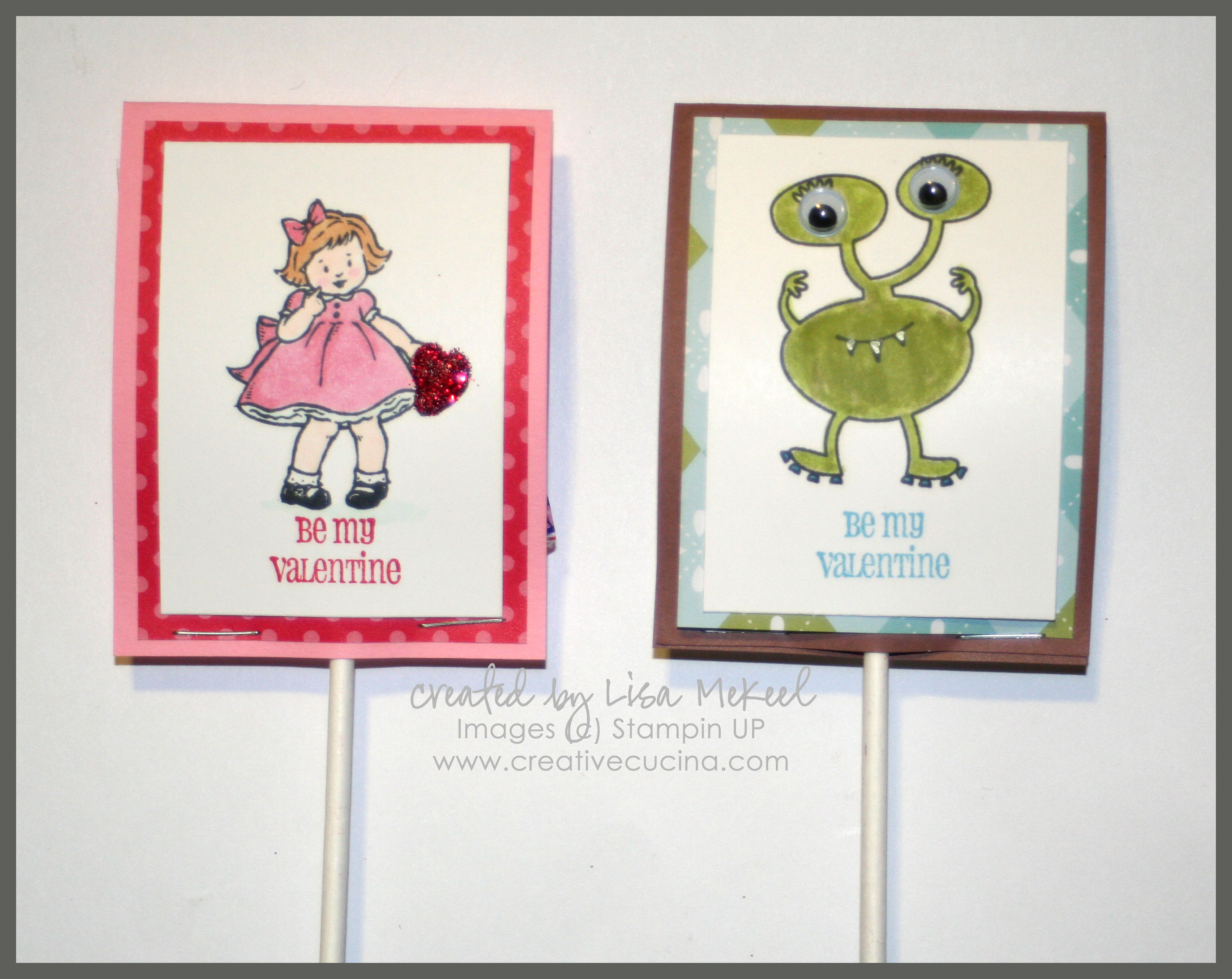 Greeting Card Kids Valentine Treats For Girls And Boys Creative Cucina