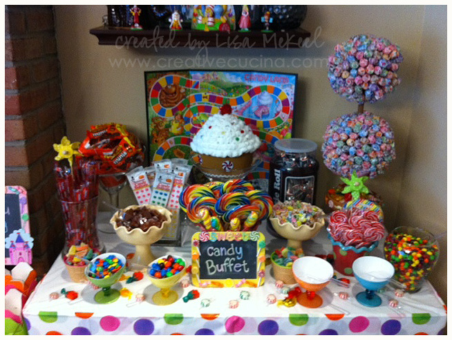Candy Land Birthday Party | Creative Cucina