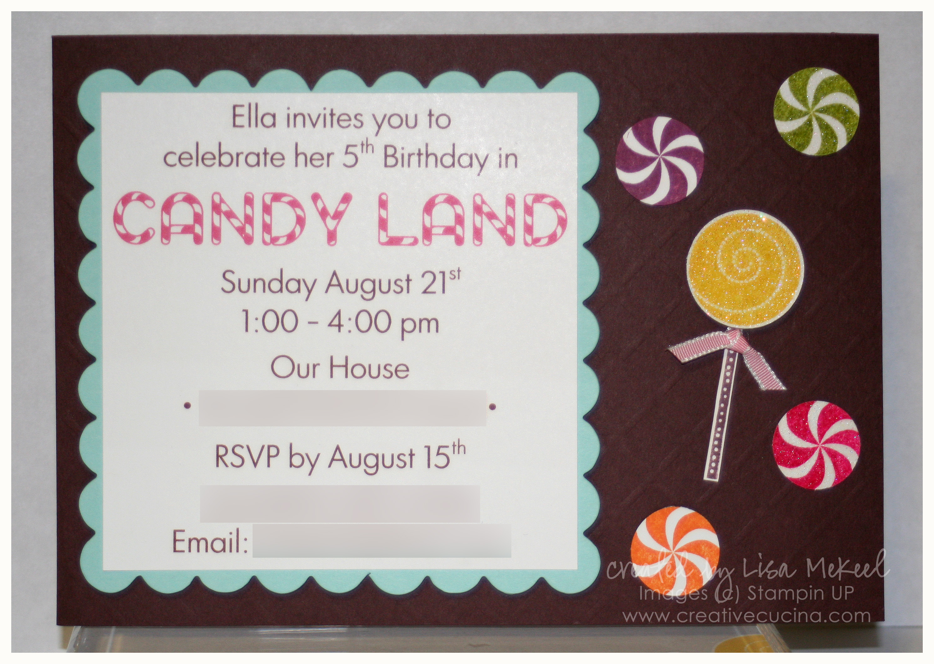 Candy Land Birthday Party | Creative Cucina